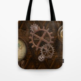 Comforts of Steampunk Tote Bag