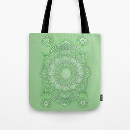mandala Chakra Anahata Tote Bag