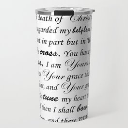 Prayer of Hymns Travel Mug