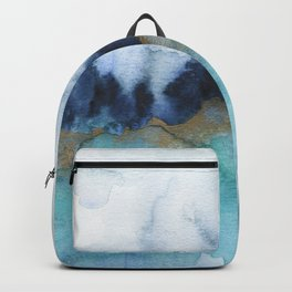Mystic abstract watercolor Backpack