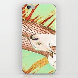 Fishnet Pop Art iPhone Skin