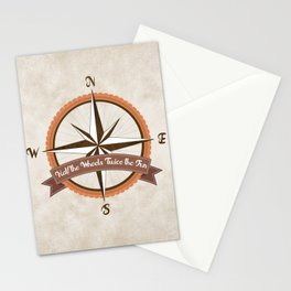 Bicycle Wind Rose Stationery Cards