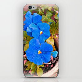 Little Blue Eyes. iPhone Skin