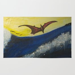 "sea monster""via Creation"" Rug"