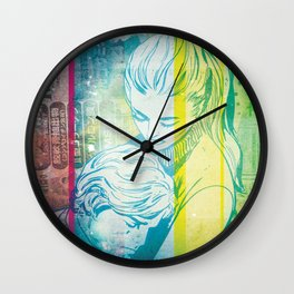 Comfort In Your Arms Wall Clock