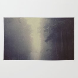 Long Road, Redwoods National Park. Instant Film Rug