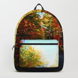 Into the Fall Forest Backpack
