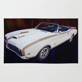 1969 Hurst Oldsmobile 455 Ho Convertible Rug