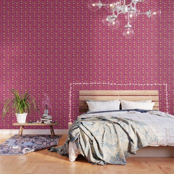 Unique Artsy Spoons Warm Colors Wallpaper By Kelseylovelle