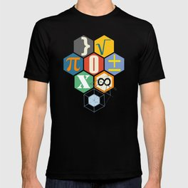 Math in color (white Background) T-shirt