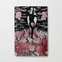 Chameleon Venus Metal Print