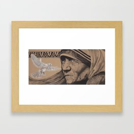 Faith by Rick Valdez Framed Art Print