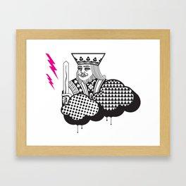 Poker Toys  (a).2 Framed Art Print