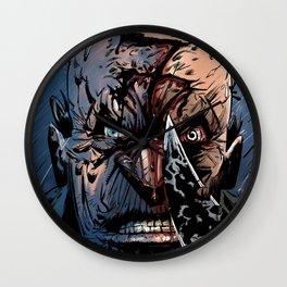 WRATH OF GOD - Seven Wall Clock