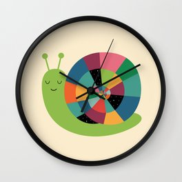 Snail Time Wall Clock