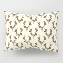 The Red Stag Pillow Sham
