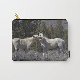 Wild Horses with Playful Spirits No 2 Carry-All Pouch