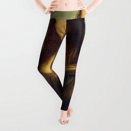 MONA LISA - LEONARDO DA VINCI Leggings