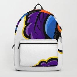 Cavalier Head Mascot Backpack