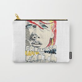 Leeloo Dallas portrait Carry-All Pouch