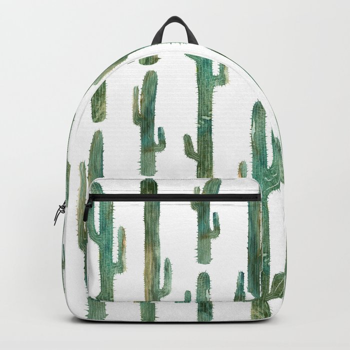 Green Cactus Backpack