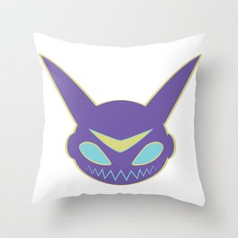 kiddooutline Throw Pillow