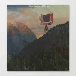 Our National Parks Canvas Print