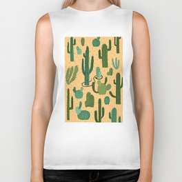 The Snake, The Cactus and The Desert Biker Tank