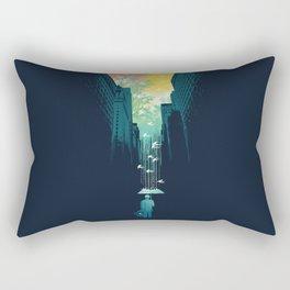 I Want My Blue Sky Rectangular Pillow