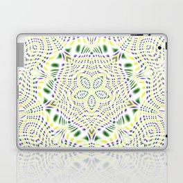 Yellow, Green, Purple Kaleidoscope Laptop & iPad Skin