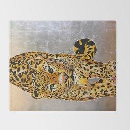 Jaguar Pachamama Throw Blanket
