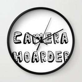 Camera Hoarder Wall Clock