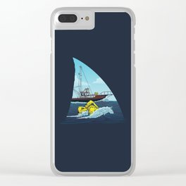 Jaws: The Orca Clear iPhone Case