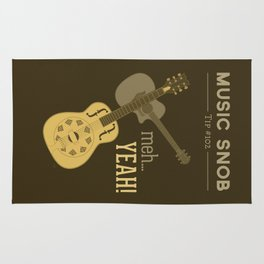 Yeah or Meh: The Acoustic Guitar — Music Snob Tip #102 Rug