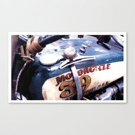MOTORCYCLE 39 Canvas Print