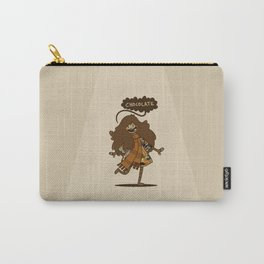 Chocolate Lady Carry-All Pouch