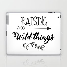 Raising Wild Things Laptop & iPad Skin