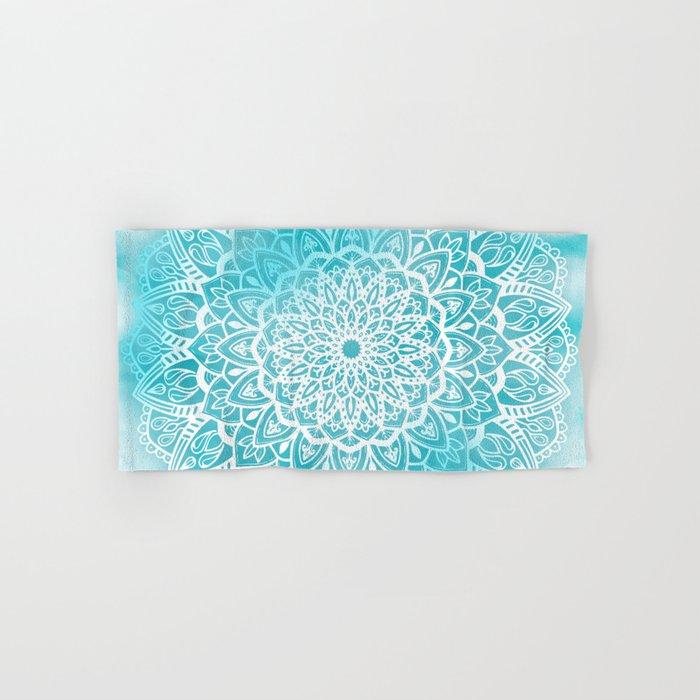 Bath Towel White and Kettle Blue Stripe - Fieldcrest™