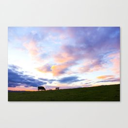 Sonoma County Sunset Canvas Print