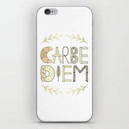 Carbe Diem iPhone Skin