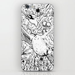 Swan and Snake iPhone Skin