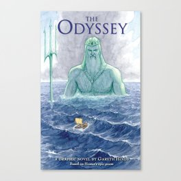 The Odyssey - cover image Canvas Print