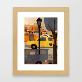 CROWN HEIGHTS 1 Framed Art Print