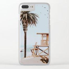 no lifeguard ii Clear iPhone Case