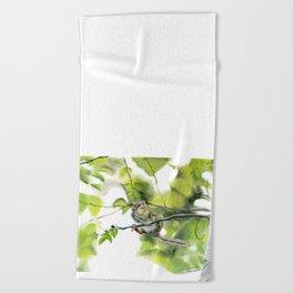 Balancing Act by Teresa Thompson Beach Towel