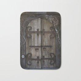 Gothic Spooky Door Bath Mat