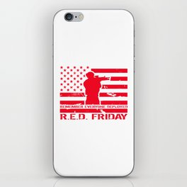 RED Friday iPhone Skin