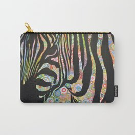Abstract Art Animal Zebra Painting ... Urban Jungle Carry-All Pouch