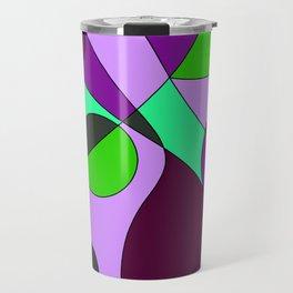 Abstract pattern Cuts Travel Mug
