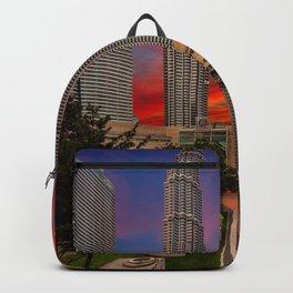 Petronas Towers Sunset Backpack